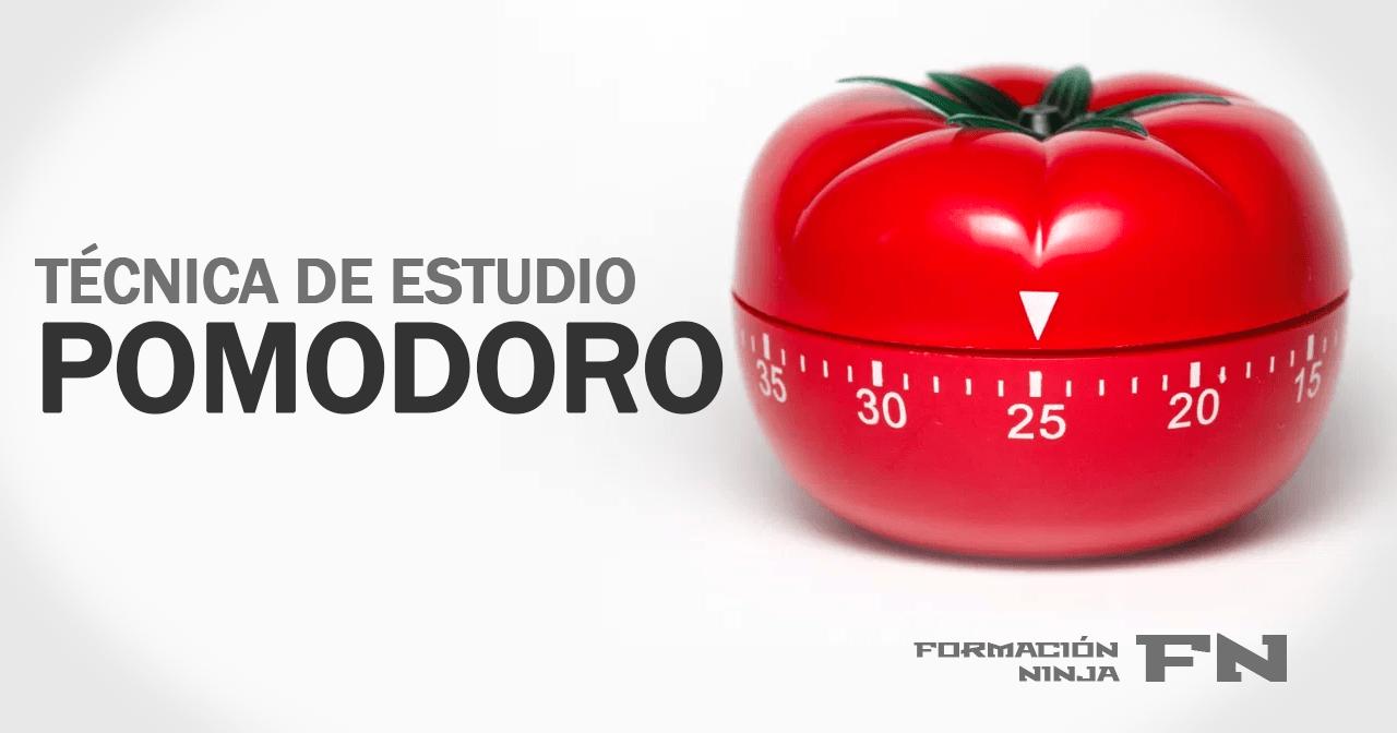 técnica de estudio pomodoro